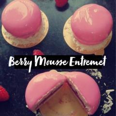 Berry Mousse Entremet