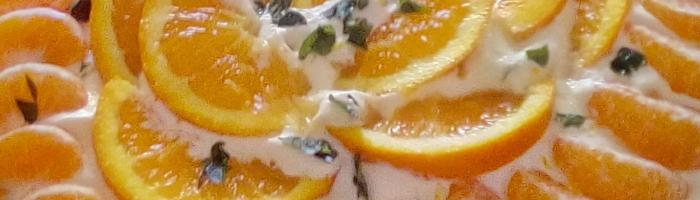 Cleo's winter fruit pavlova