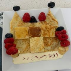 Pancake castle and strong Berry knights