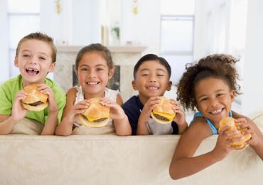 Fruity Fun Hamburger
