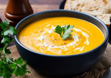 Rich Winter Butternut Squash Soup