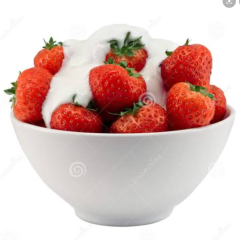 Stawberries and cream