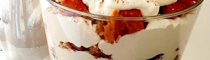 Talicious Spiced Plum Butter Cake with Lemon Zest Whipped Cream
