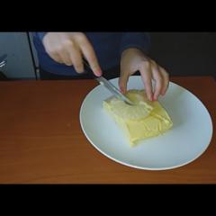 Pineapple yogut tart