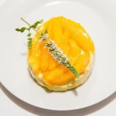 Josh's Durban Spiced Mango Cheesecake