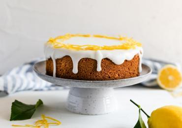 Tangy Lemon Sponge Cake